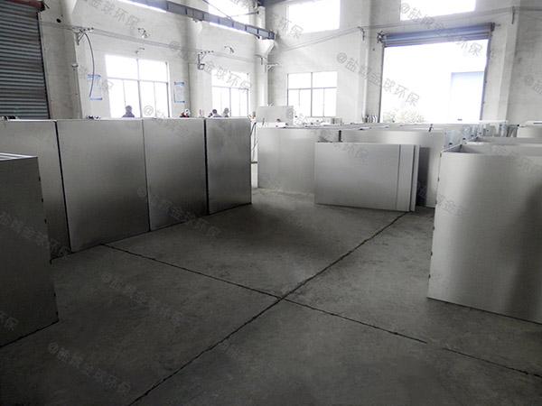 餐飲業地埋式自動排水污水處理隔油池定做