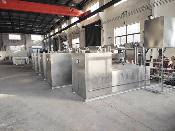 火锅店大型地面式智能化油脂分离器价位
