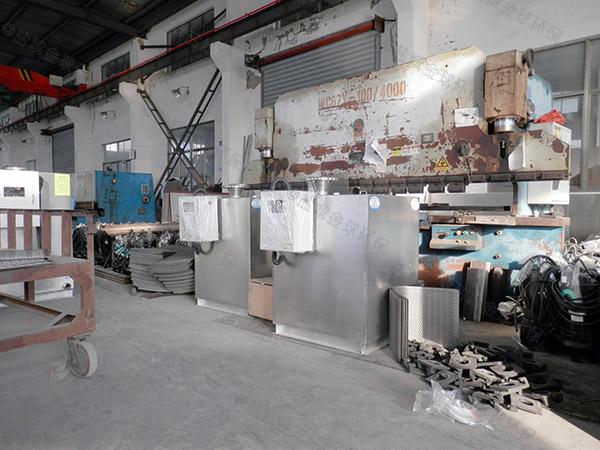饭店用地下式大型自动提升污水油水分离设备规格型号及价格