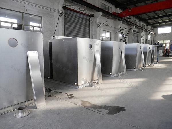 室内全自动一体化隔油污水提升设备设计方案