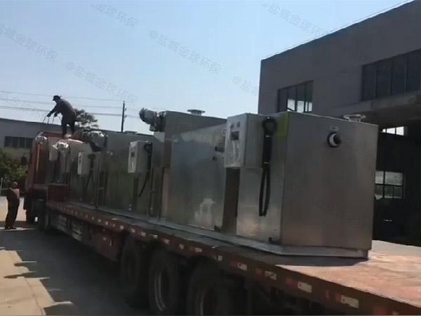 商场餐饮地下式大型智能型萍乡萍乡萍乡油水分离器与萍乡萍乡隔油池如何安装