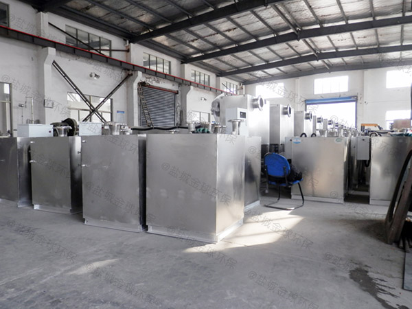 火鍋專用大型地上無動力隔油提污設備使用方法
