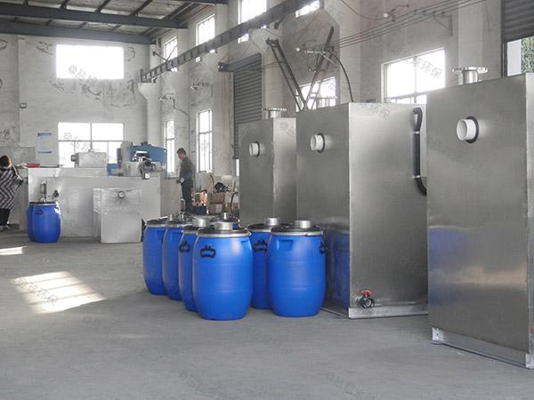 學校大型室內移動式水油分離工程