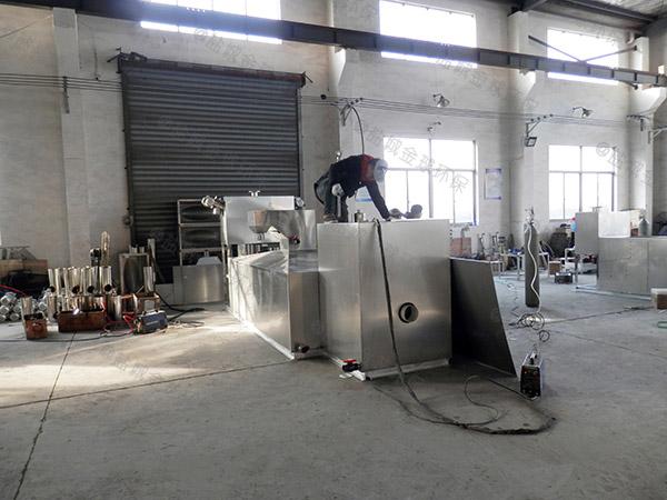 餐饮专用地埋式自动化水油分离装置有什么作用