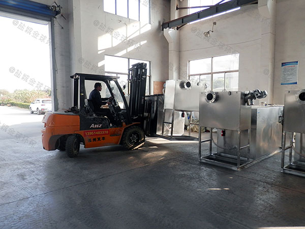 商城中小型组合式油水分离器与隔油池使用寿命