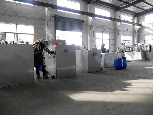 火锅店地面式自动提升隔油器提升设备类型