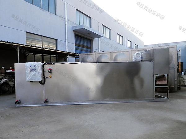 火鍋大自動排水油水分離裝置照片