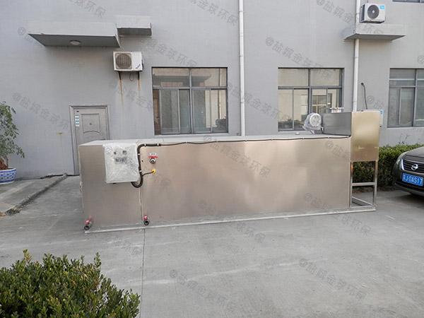 餐厅厨房埋地式中小型无动力一体化油脂分离器报告
