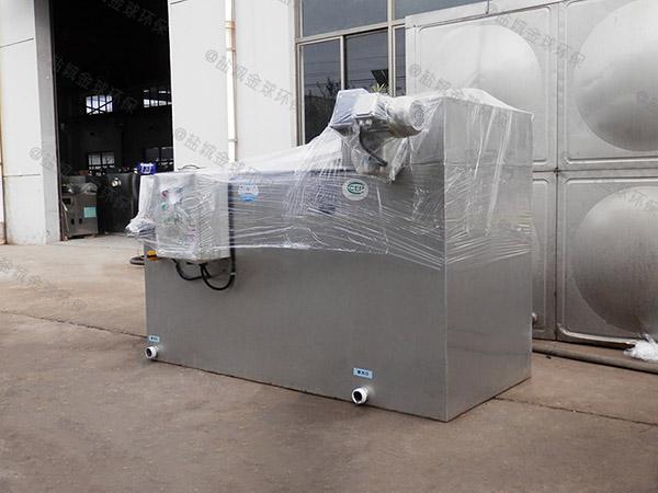 生活地埋式中小型自動化成品隔油處理器制作方法