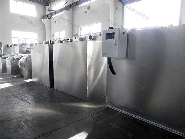 餐厅厨房大地埋式自动化一体化油脂分离设备调试方案