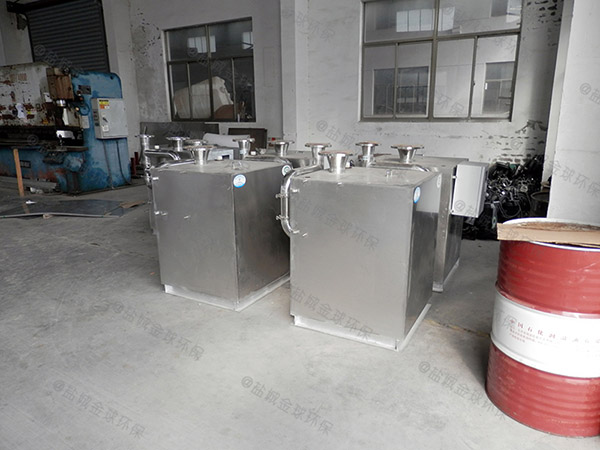廚余大型埋地式自動排水隔油提升裝置廠家