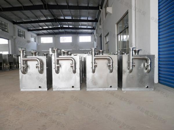 餐用地上多功能三级油水分离器产品