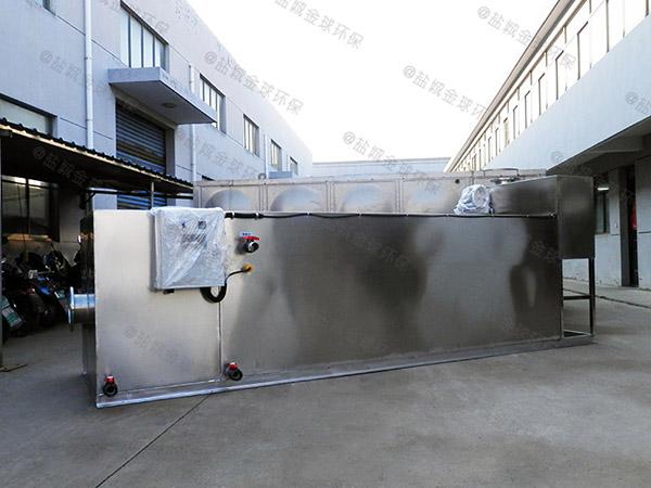 中餐地下式大型自動排水污提及隔油設備廠家中哪個比較好