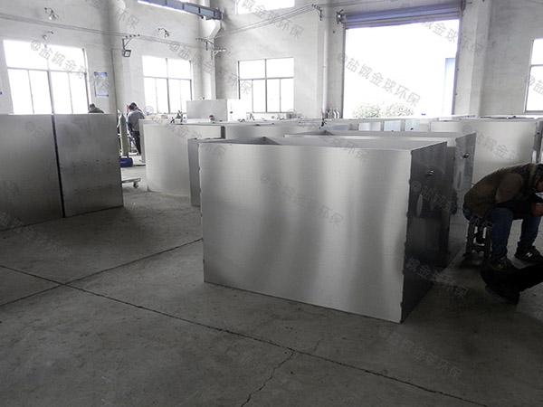 厨下型地上式全能型餐厨垃圾油水分离设备制作方法
