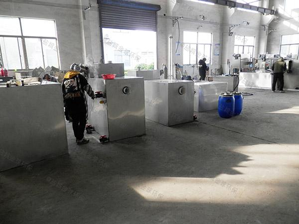 餐飲類中小型地下式自動化隔油凈化設備作用