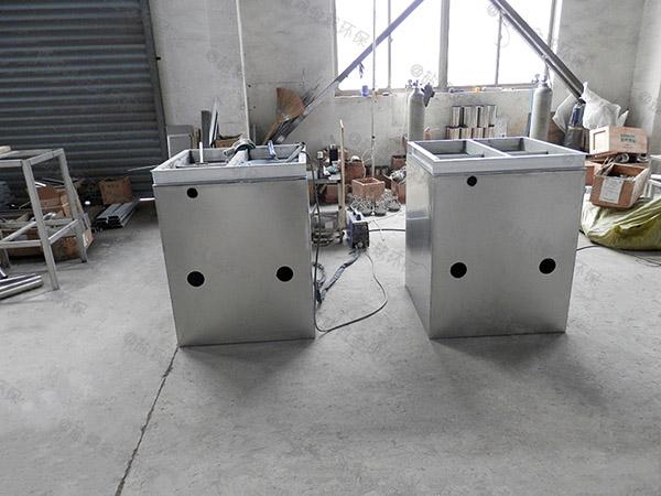 饭馆地上式大自动提升油水固相分离装置的型号规格
