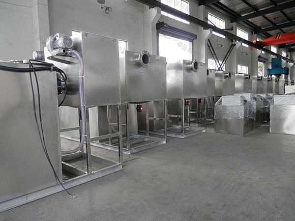 餐饮环保大室内简单水油分离装置产品