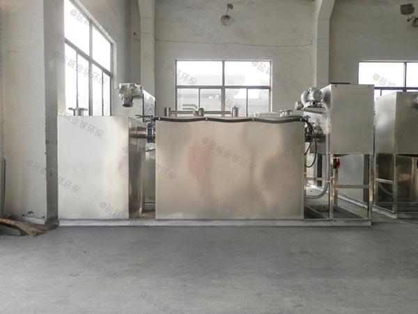 商业中小型地埋无动力隔油池成品处理效果