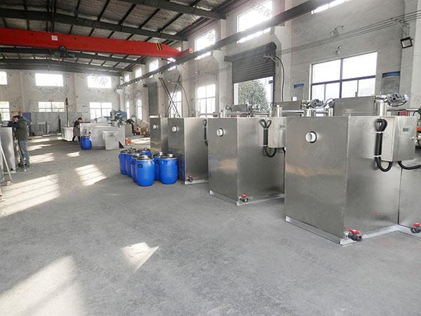 工地中小型地下室自动刮油水与油分离机器排名