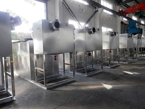 工程室内中小型组合式油水分离过滤器说明书