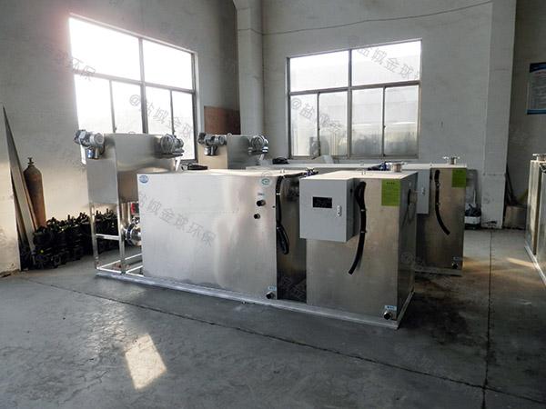 餐飲專用埋地自動化隔油提升設備需要泵嗎