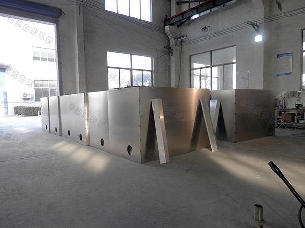 火鍋店中小型地下室自動油水分離器設計方案
