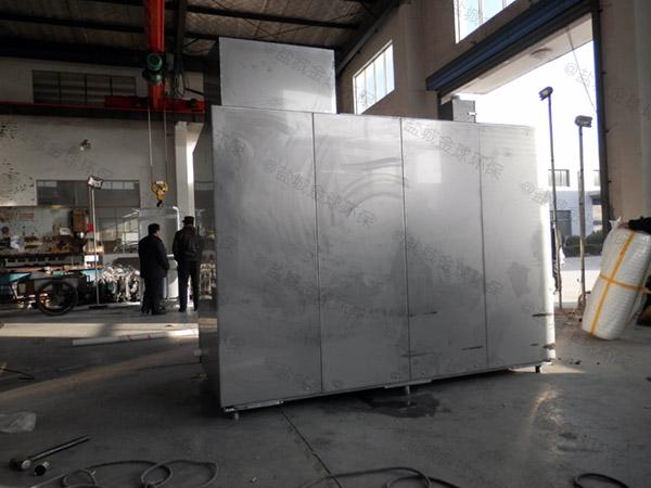商城室內中小型自動化成套隔油設備CAD
