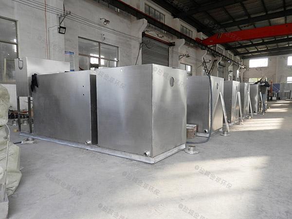 學校大型地下式全能型水油分離裝置的設置