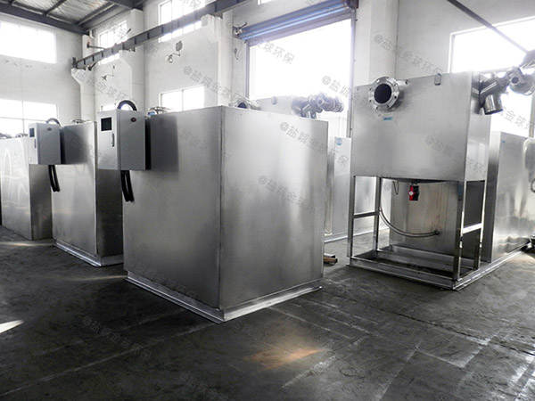 戶外中小型地埋式分體式密閉隔油器處理