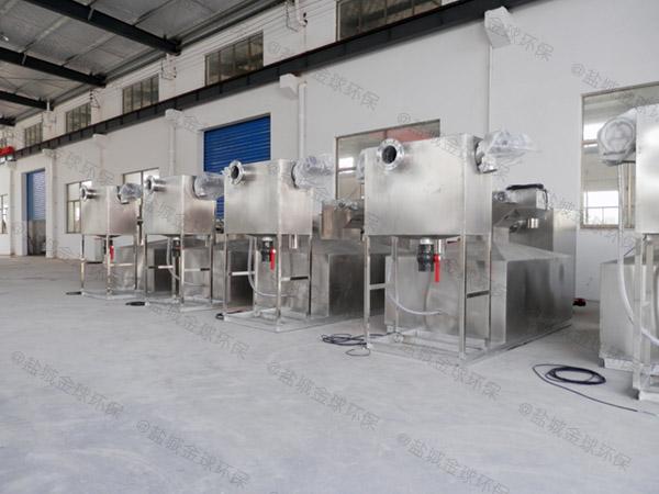 餐饮环保地上式隔油器提升设备检验