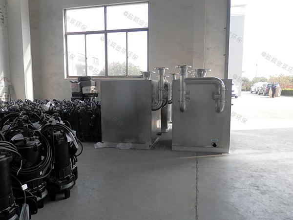 火锅专用大地面式组合式污水处理隔油池除油效率