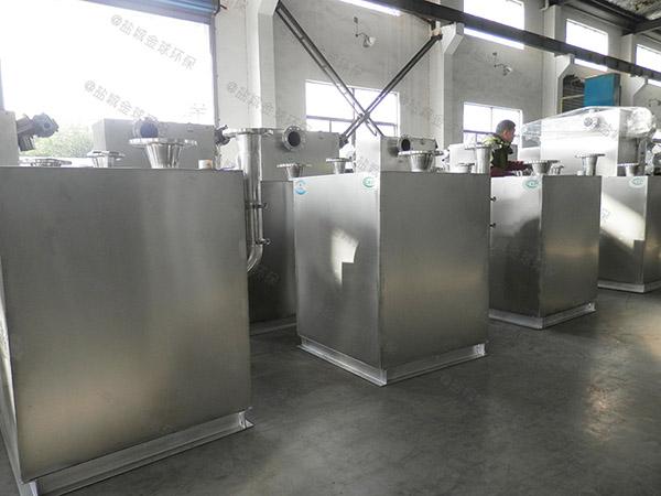 餐饮环保中小型地下室组合式油水处理设备都有什么型号