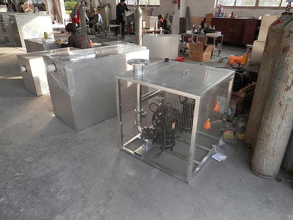 餐飲業地下室多功能隔油器提升設備適用行業