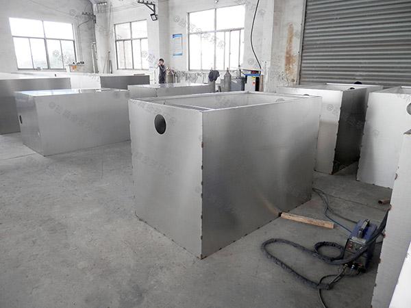 地下式全自动隔油污水提升设备内部结构