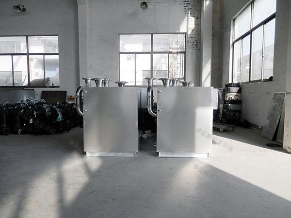 食堂户外中小型全能型除渣隔油器的组成