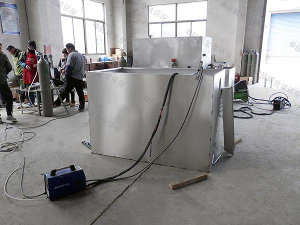 單位食堂大地下室簡易一體式隔油提升設備排名