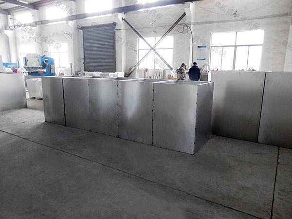 厨下型地埋式自动排水餐厨垃圾油水分离设备改造价格
