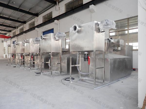 餐飲類中小型地下多功能不銹鋼隔油池直供廠家