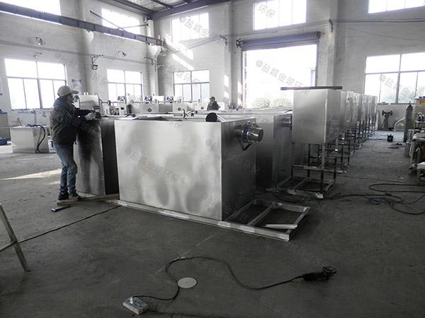 厨用大型水处理油水分离器是做什么用的