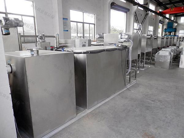 工厂食堂埋地式移动除渣隔油器图片