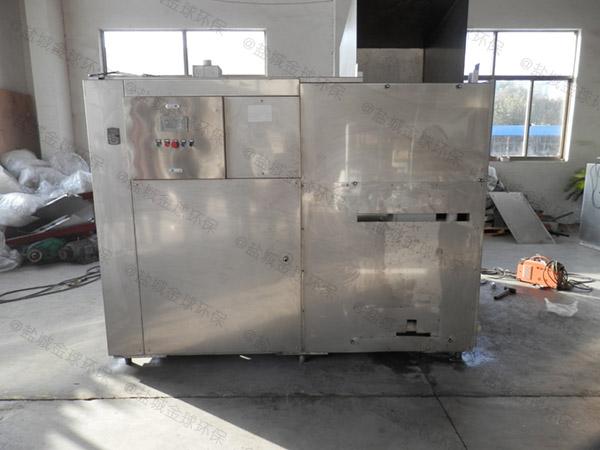 餐館中小型地上式多功能成品不銹鋼隔油池有哪些