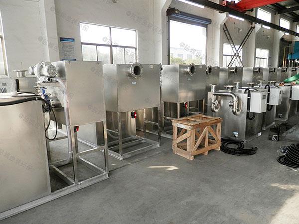 食堂用地面式大自動排水隔油一體化裝置分出來的油怎么處理