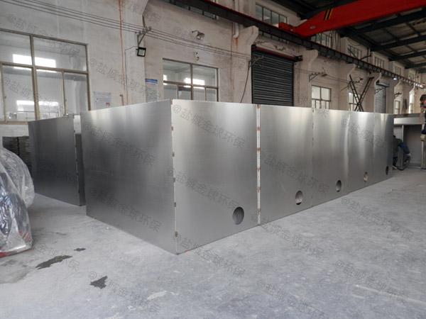 工地食堂中小型地上移動式一體化油水分離裝置的作用