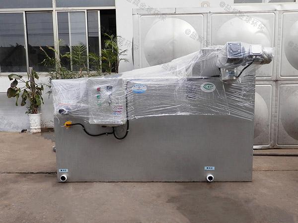 工地食堂地埋式大多功能隔油池提升一体化设备价位