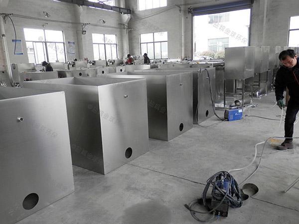 餐用中小型混凝土隔油处理设备生产厂