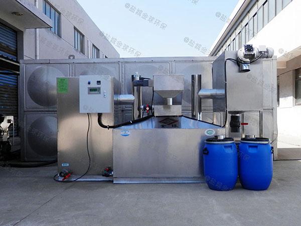100人餐饮组合式油水分离设备生产