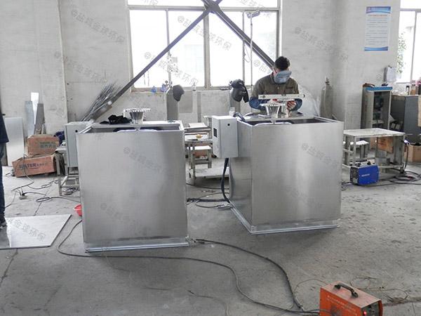 单位食堂2号用砖做隔油净化设备生产厂商