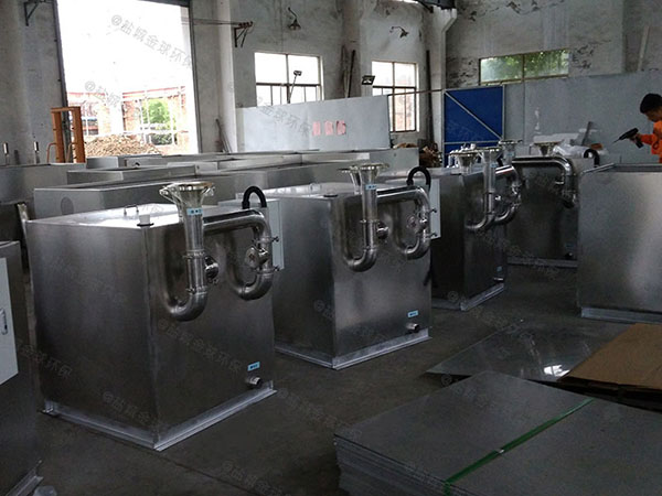 甲型餐饮智能化含油污水处理型号