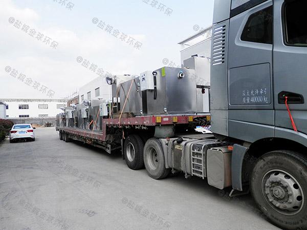 厨用2.8米*1.2米*1.75米混凝土隔油除油设备使用要求
