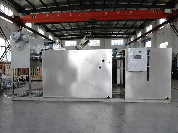 8吨的长宽高综合体智能化油水处理设备选型
